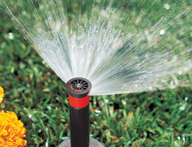 lawn sprinklers installtion service and maintenance