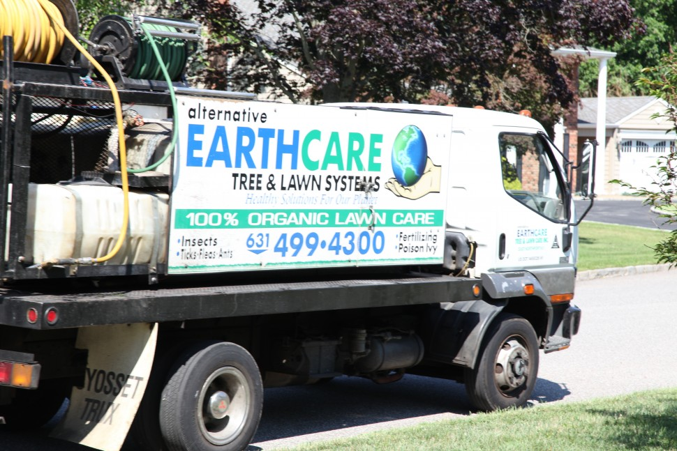 Alternative Earthcare Work Truck