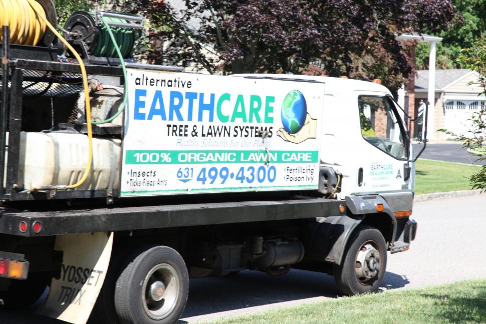 Alternative Earthcare Work Truck