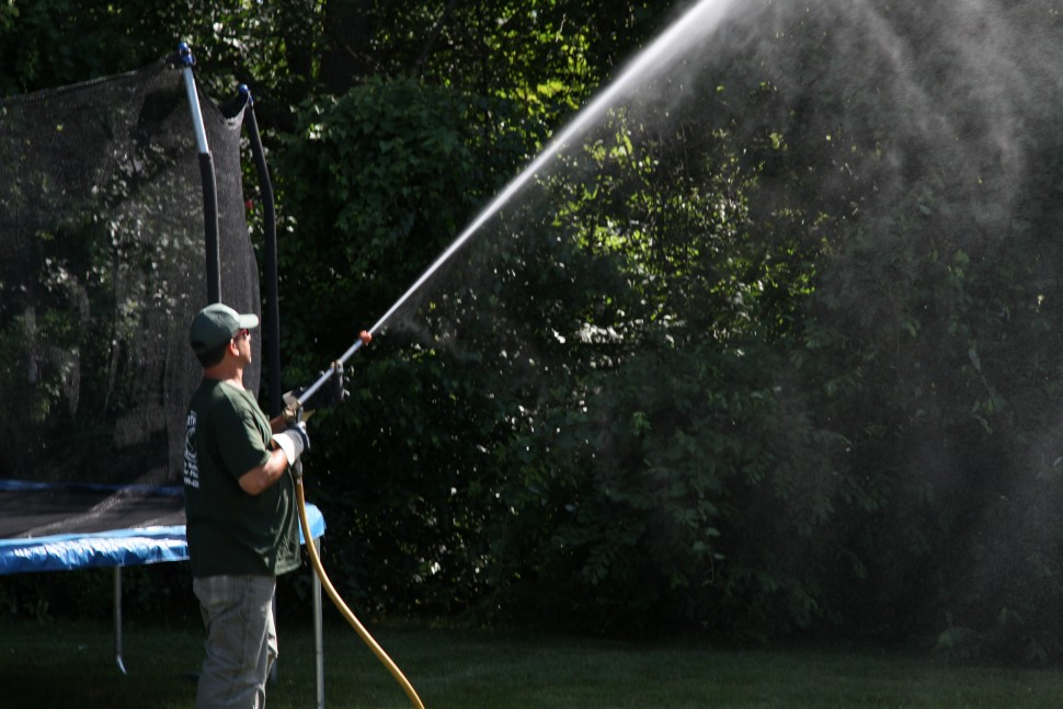 Spraying of Lawn & Trees for Ticks