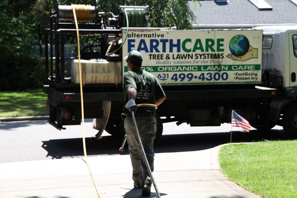 Alternative Earthcare's Work Truck